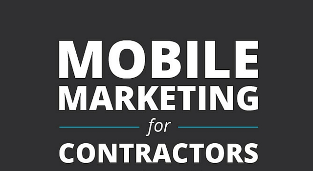 mobile marketing for contractors