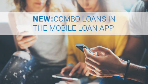 combo loans in the mobile loan app