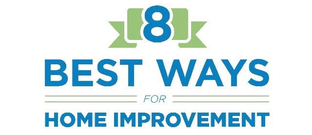 8 best ways for home improvement