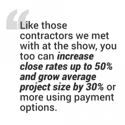 Pull quote about the success of the ACCA Show
