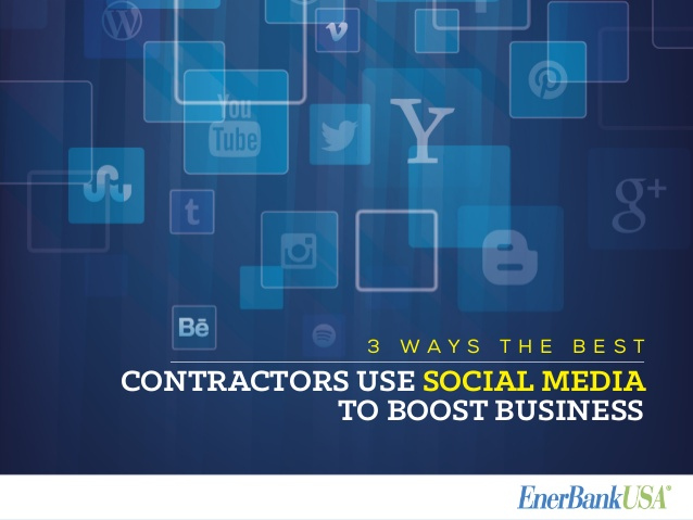 3 ways the best contractors use social media