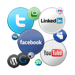Use social media to your advantage graphic